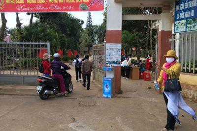 Công tác phòng dịch sau tết và đón học sinh đi học trở lại.