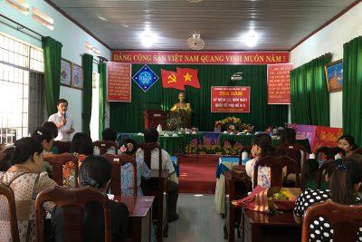 Trường THCS Hoàng Hoa Thám tổ chức thi nấu ăn và tọa đàm ngày 8 tháng 3