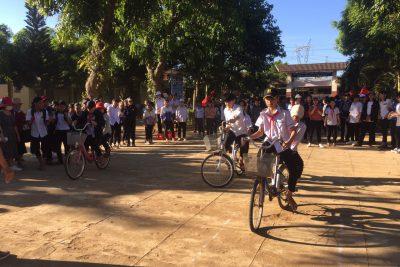 Trường THCS Hoàng Hoa Thám tổ chức hoạt động ngày 26/3/2021